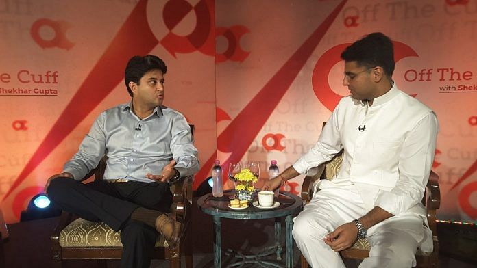 Jyotiraditya Scindia said that it was a matter of days before Rahul Gandhi became Congress president