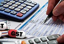A representational image on GST filing