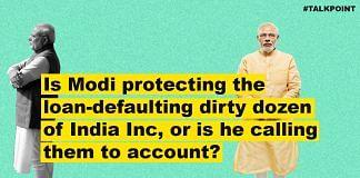 A graphic showing Narendra Modi