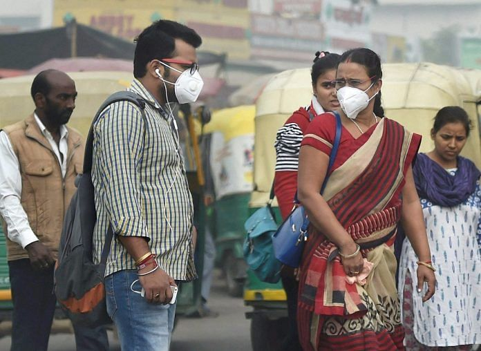 Pollution masks