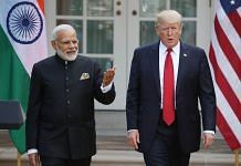 File photo of PM Modi & US President Donald Trump | Getty images
