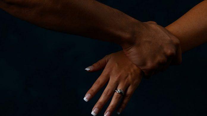 Representative image of domestic violence