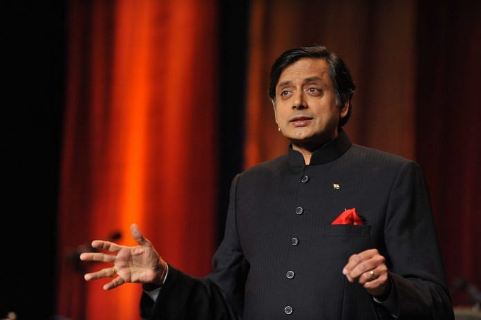 A file photo of Shashi Tharoor