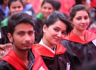 Students of Panjab University during annual convocation (representational image) | Commons