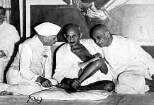 Jawaharlal Nehru, M.K. Gandhi, and Sardar Patel in 1946 | Commons