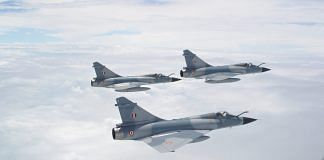 Mirage 2000 formation