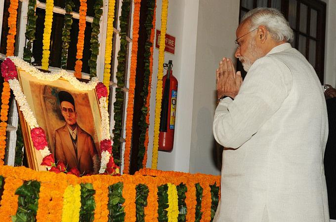 Narendra Modi pays tribute to Veer Savarkar | Narendra Modi official page