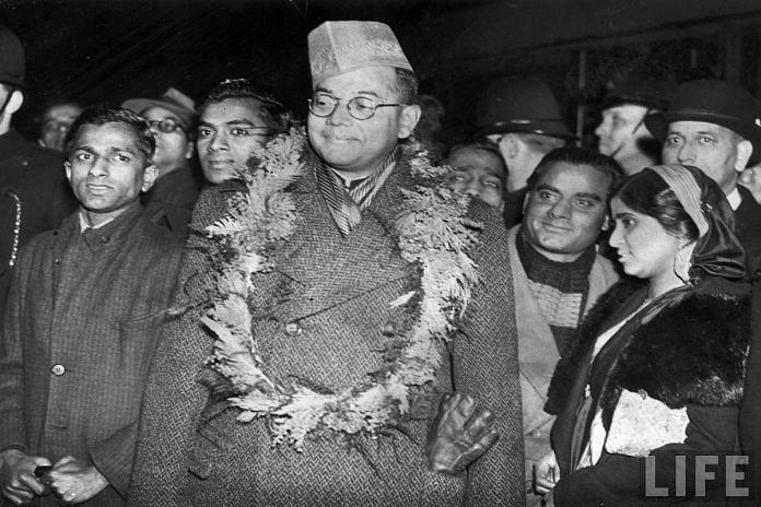 Subhas Chandra Bose arrives at Victoria Station