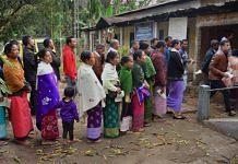 Voting in Meghalaya