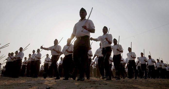 How did RSS become Hindu messiah in India? Disaster relief since 1947