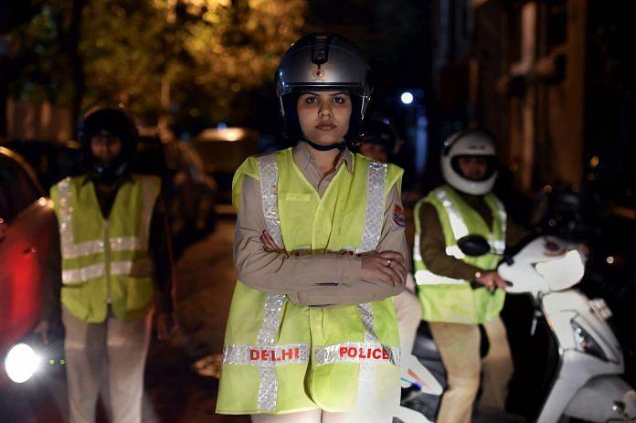A Delhi Police constable in New Delhi | PTI