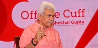 Newly appointed L-G of Jammu and Kashmir Manoj Sinha. | ThePrint