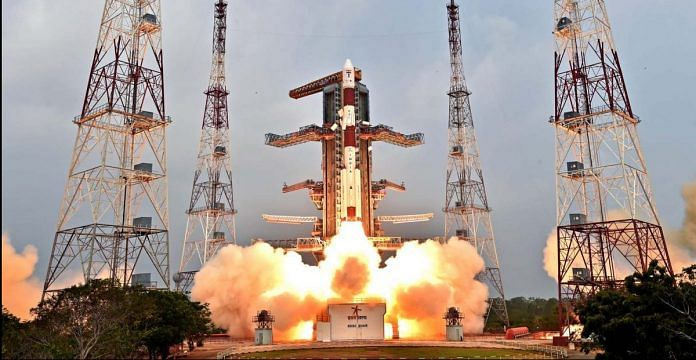 The launch of PSLV C31