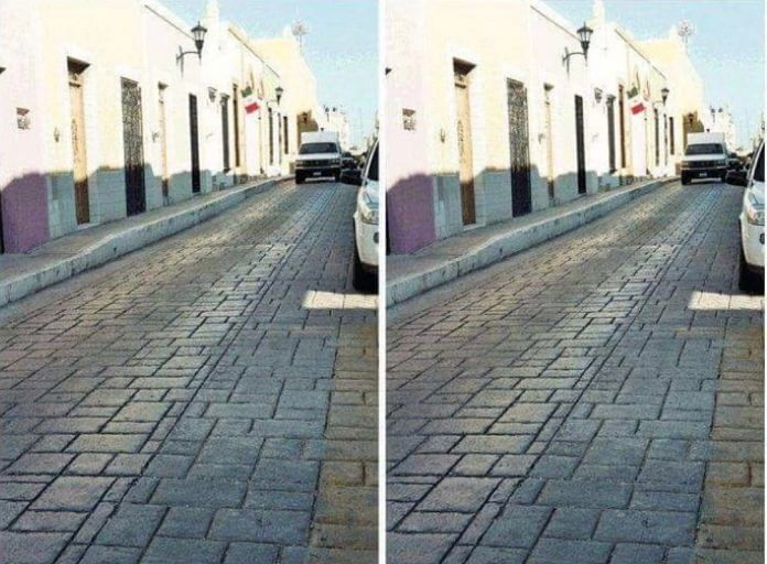 File photo of optical illusion File photo of optical illusion