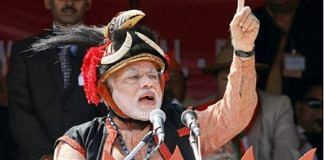 Narendra Modi in traditional Nagaland headgear | Twitter