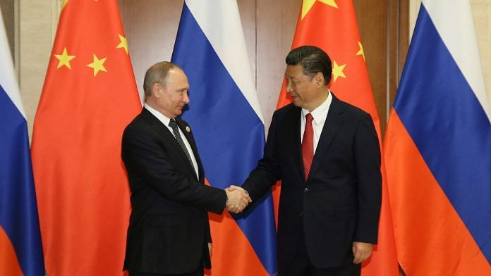 Путин и Цзиньпин