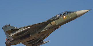 A Tejas aircraft | Commons