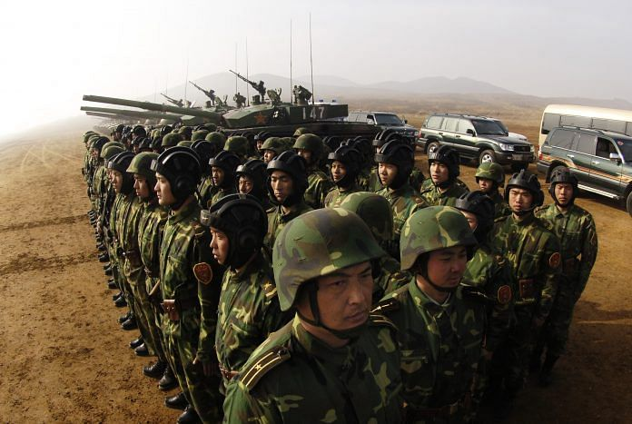 Soldiers of the People's Liberation Army