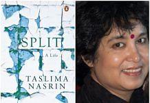 The book 'Split' and Taslima Nasreen