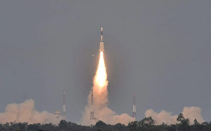 ISRO launches GSLV-F08 carrying GSAT-6A