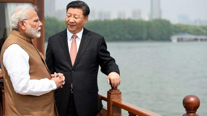 PM Modi in China
