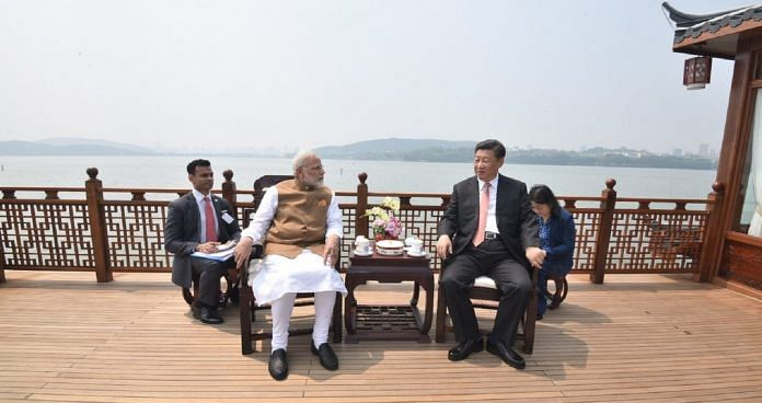 File photo of PM Modi and Chinese President Xi Jinping | @narendramodi/twitter