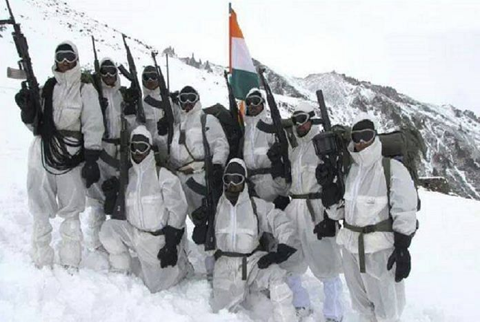 The Indian Army in Siachen