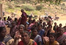 Arunthathiyars protesting against wall built by Paraiyars in a Madurai village