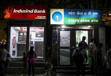 ATM booths for IndusInd Bank and State Bank of India in the Chembur