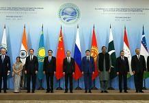 SCO member states' delegations in Sochi, Russia on 1 December 2017