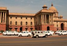 File photo of government buildings on Raisina Hill