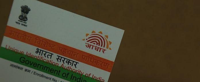 Latest news on Aadhaar | ThePrint.in