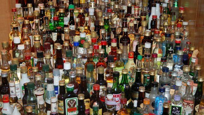 File image of liquor bottles | Commons