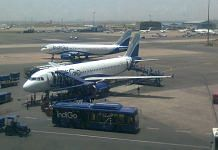A total of 330 passengers on board the two flights had a narrow escape - Wikipedia commons