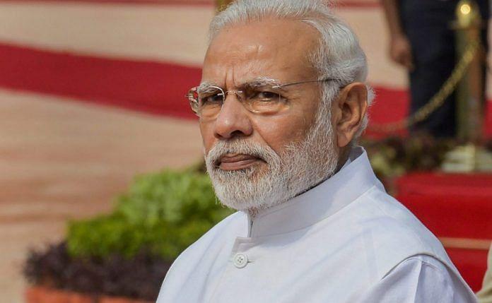 Prime Minister Narendra Modi in New Delhi | Manvender Vashist/PTI