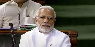 PM Narendra Modi attends the first day of the Monsoon session of Lok Sabha, at the Parliament in New Delhi | PTI