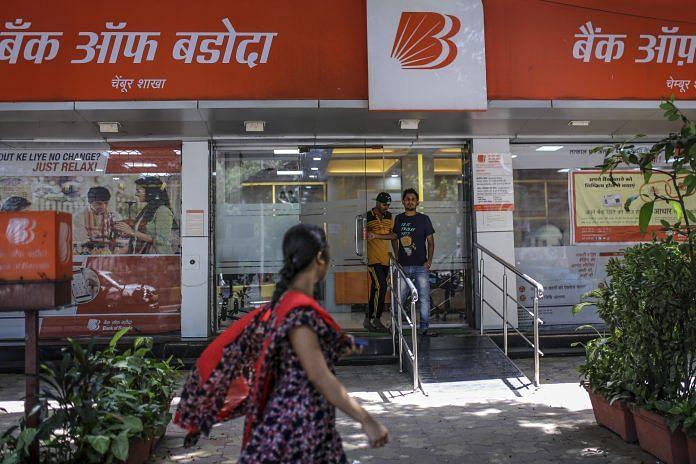 Representational image of a Bank of Baroda branch   Dhiraj Singh/Bloomberg