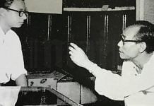 SD Burman with his son RD Burman | National Film Archive of India (NFAI)/Twitter