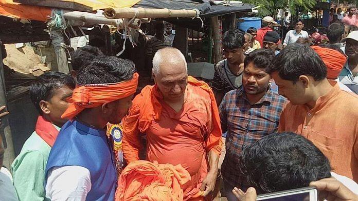 Swami Agnivesh was allegedly assaulted by the Bharatiya Janata Yuva Morcha