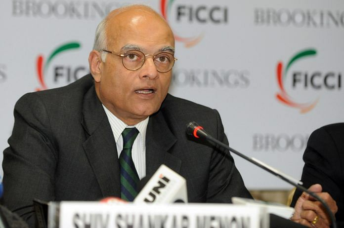 Former National Security Adviser Shivshankar Menon