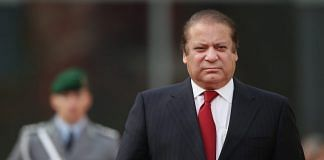 Former Pakistani prime minister Nawaz Sharif | Sean Gallup/Getty Images
