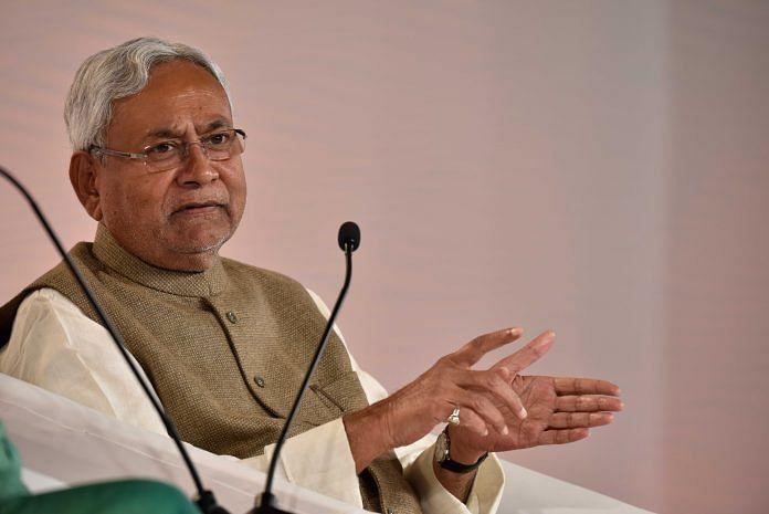 Chief minister of Bihar, Nitish Kumar   Vipin Kumar/Hindustan Times via Getty Images