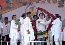 West Bengal Congress president Adhir Ranjan Chowdhury with party president Rahul Gandhi | Facebook
