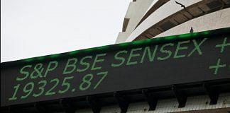 Sensex has risen more than 12% from its March low fueled by buying from local mutual funds | Adeel Halim/Bloomberg