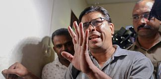 Arun Ferreira after he was arrested by the Pune police in connection with Bhima Koregaon violence case, in Mumbai | PTI