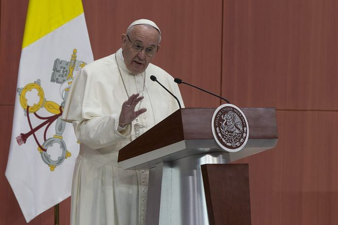 Pope Francis indicates support for same-sex civil unions