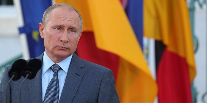 Russian president,Vladimir Putin announced the registration of the world's first Covid vaccine Tuesday | File photo: Krisztian Bocsi | Bloomberg