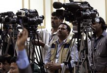 Pakistani media channels film a press conference (representational image)   Warrick Page/Getty Images