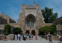 File image of the Sterling Memorial Library on the Yale University campus in New Haven, Connecticut, US | Bloomberg | Craig Warga