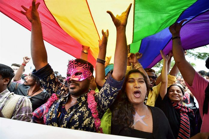 A five-judge Constitution bench of the Supreme Court unanimously decriminalised part of the 158-year-old colonial law under Section 377 | PTI